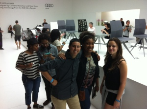 Seniors at Design Miami