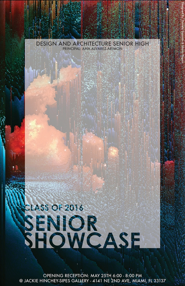 Senior Showcase Poster