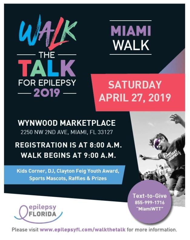 2019 Epilepsy Walk